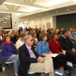 Full House for LWV Debate