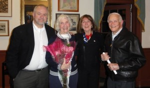 Former RTC Members: W. Glenn Major, Jane Gray, Martha Diamant & Dr. Tom Aquila